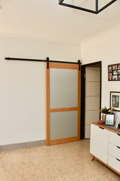 Timber & Mini Orb Barn Doors