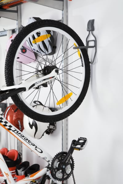 Wall Shelving & Bike Rack