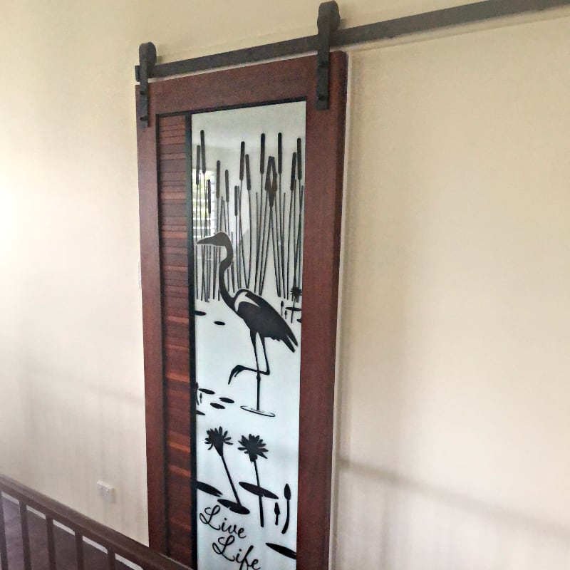 Barn Door with Custom Printing