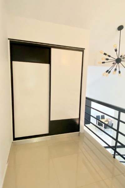 New Linen Cupboard with Sliding Doors