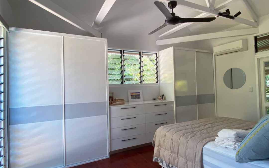 Tropical White Wardrobes for Tropical Home
