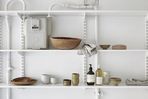 shelving for tight spots