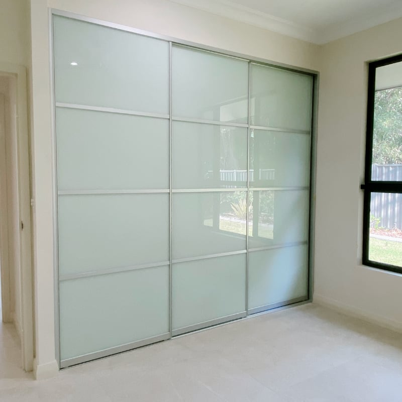 3 Sliding Doors Multi Panel Design