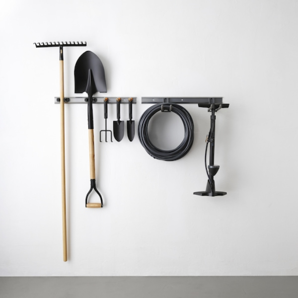 Wall Garden Tools Storage