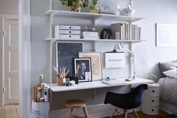 elfa bedroom office