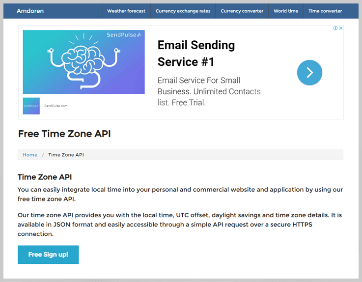4 Best API Services To Convert Mountain Time To Eastern Time 2020 | FormGet