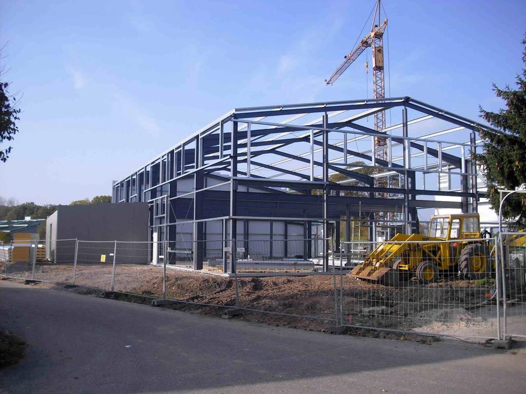 Stahlhallen Konstruktionsausführungen: Die Vielseitige Und Flexible