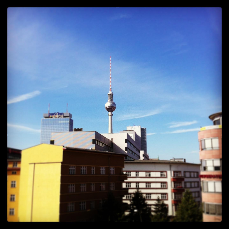 Tv-tornet, Berlin Mitte