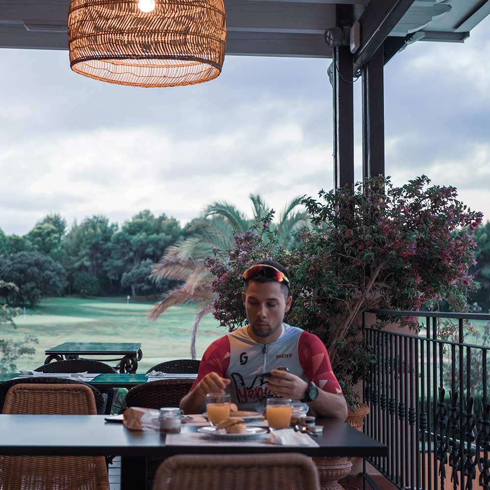 Desayuno Hotel Marriott