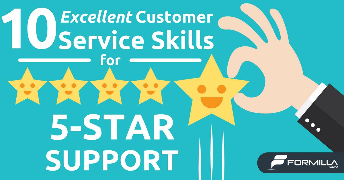 excellent customer service skills  Zoroblaszczakco