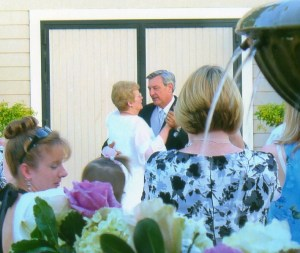 First Wedding dance at Scribner Bend Winery