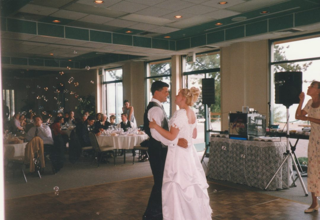 North Lake Tahoe first dance