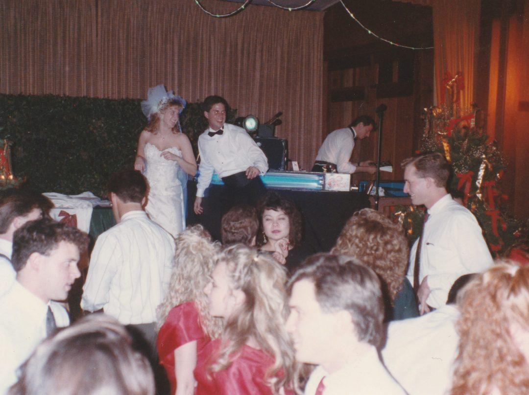 Marin wedding reception