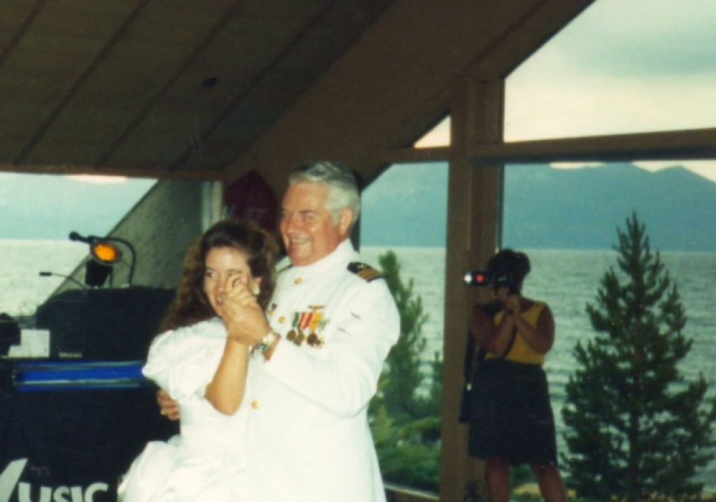 Edgewood Lake Tahoe father daughter