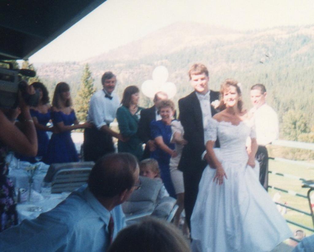 Quincy wedding reception
