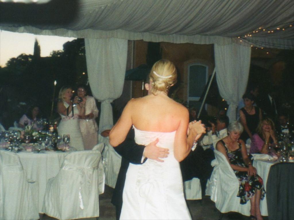 Villa Toscano Winery first dance