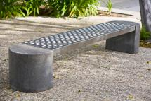 Foundation Bench Outdoor Forms Surfaces India