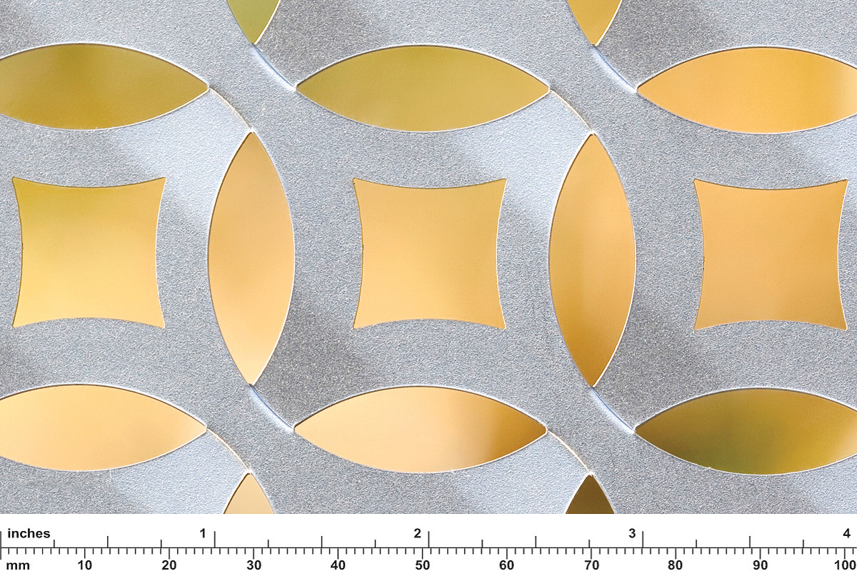 Stainless Steel Screen Patterns Forms Surfaces
