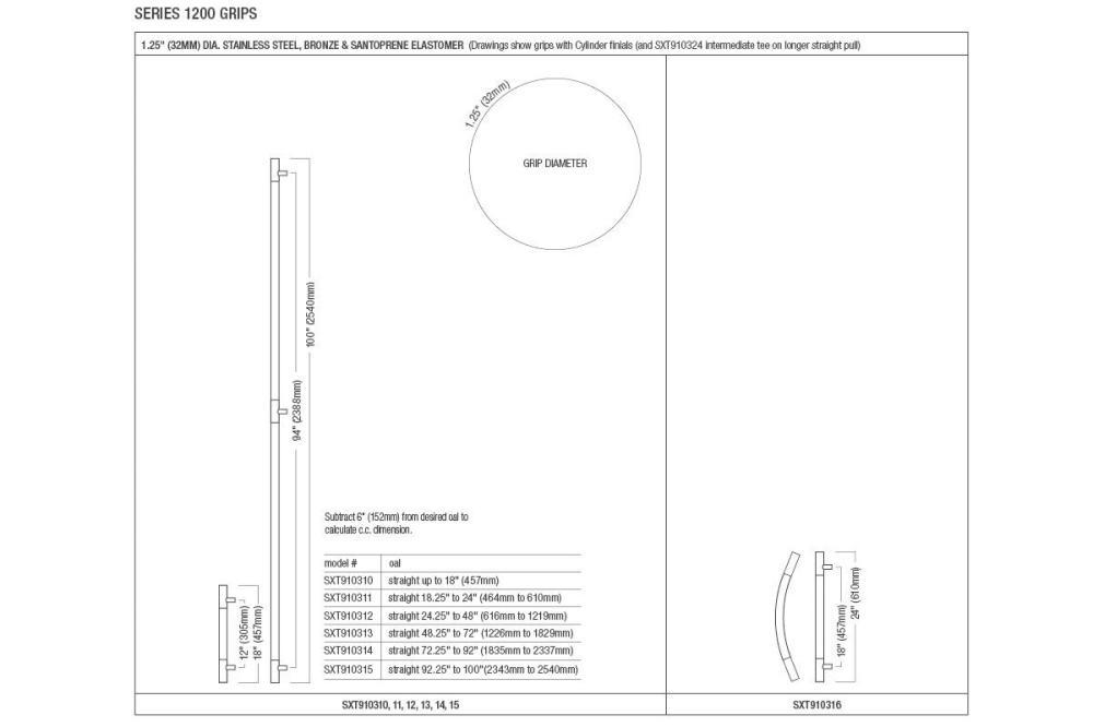 medium resolution of sextant door pulls sizes