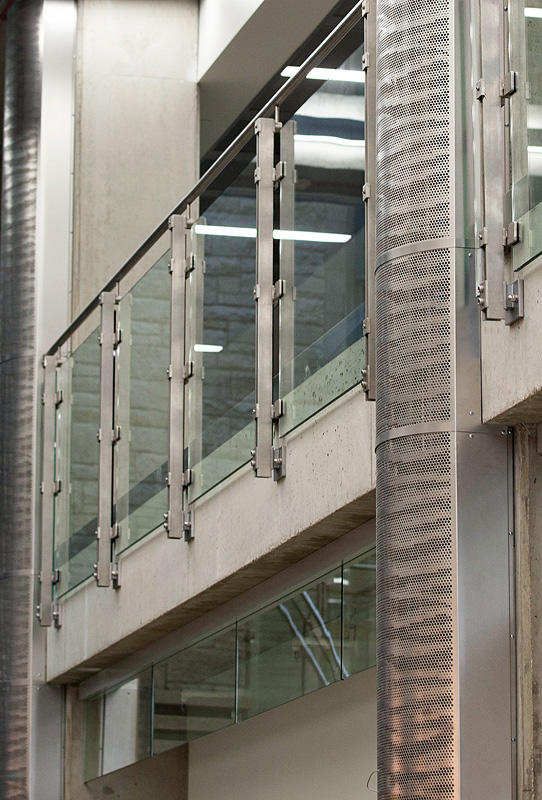 Stainless Steel Columns  Architectural  FormsSurfaces