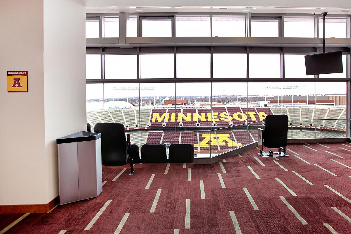 University Of Minnesota Tcf Bank Stadium Forms Surfaces