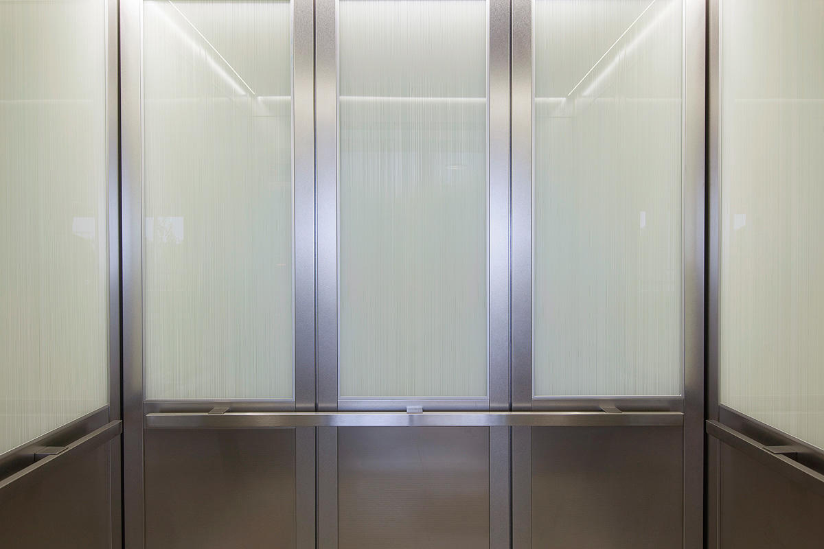 CabForms 2000N Elevator Interiors with upper panels in