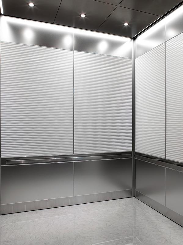 LEVELe106 Elevator Interiors  Architectural  FormsSurfaces