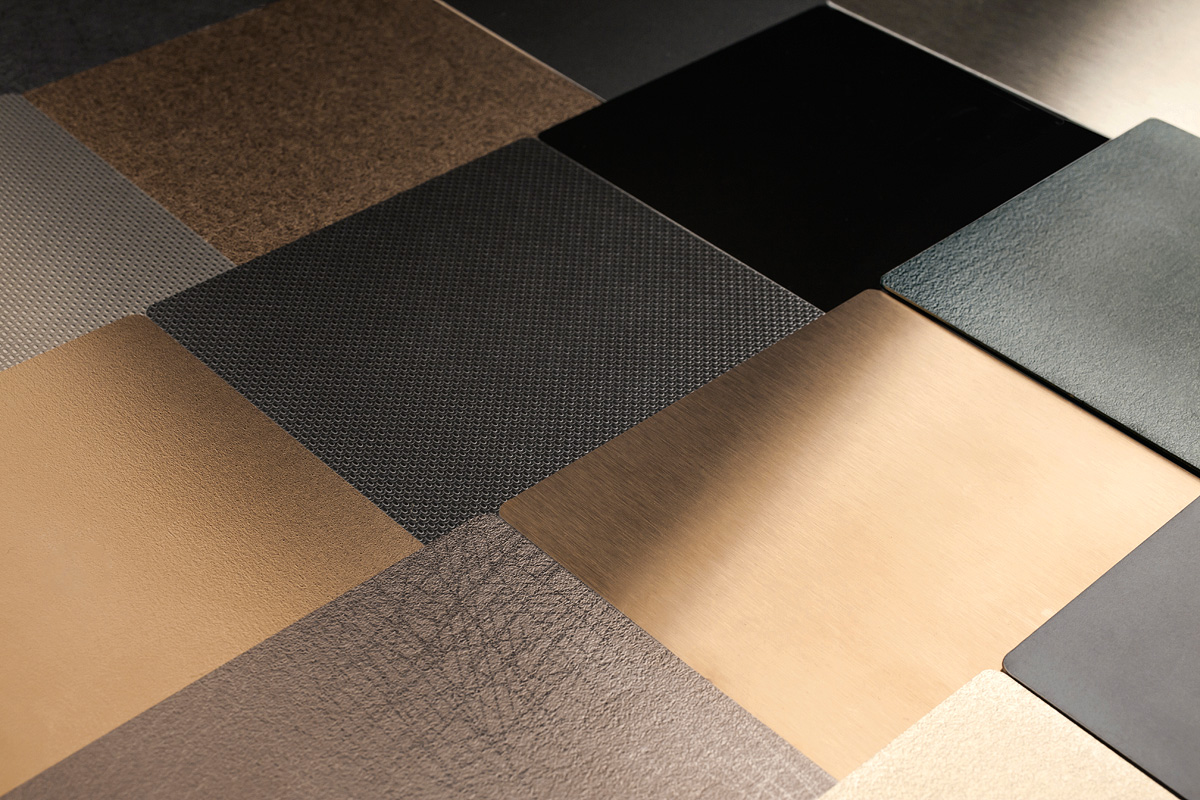 Fused Metal Colors  Finishes  Architectural  FormsSurfaces