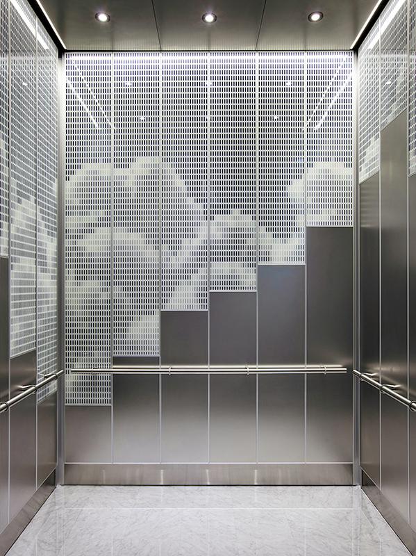 LEVELe108 Elevator Interiors  Architectural  FormsSurfaces