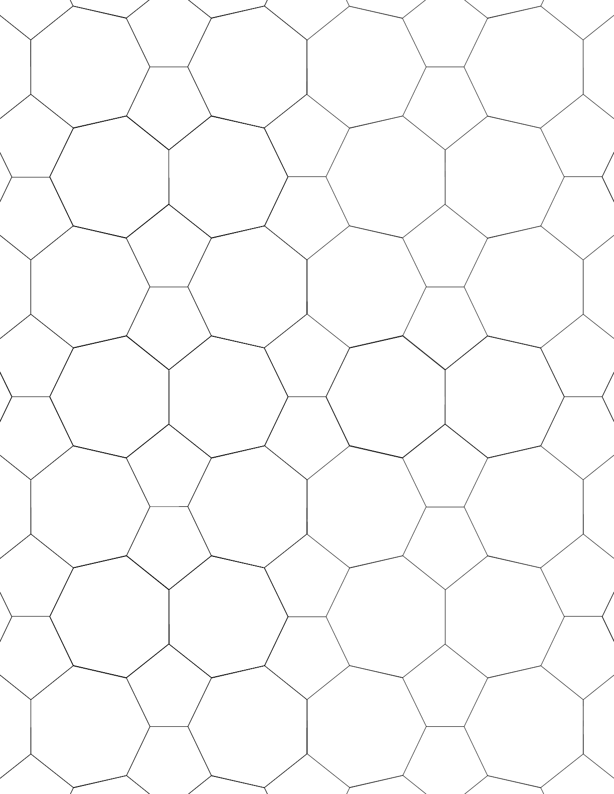 Tessellation Small Graph Paper (5.7.7, 5.7.5) Free Download
