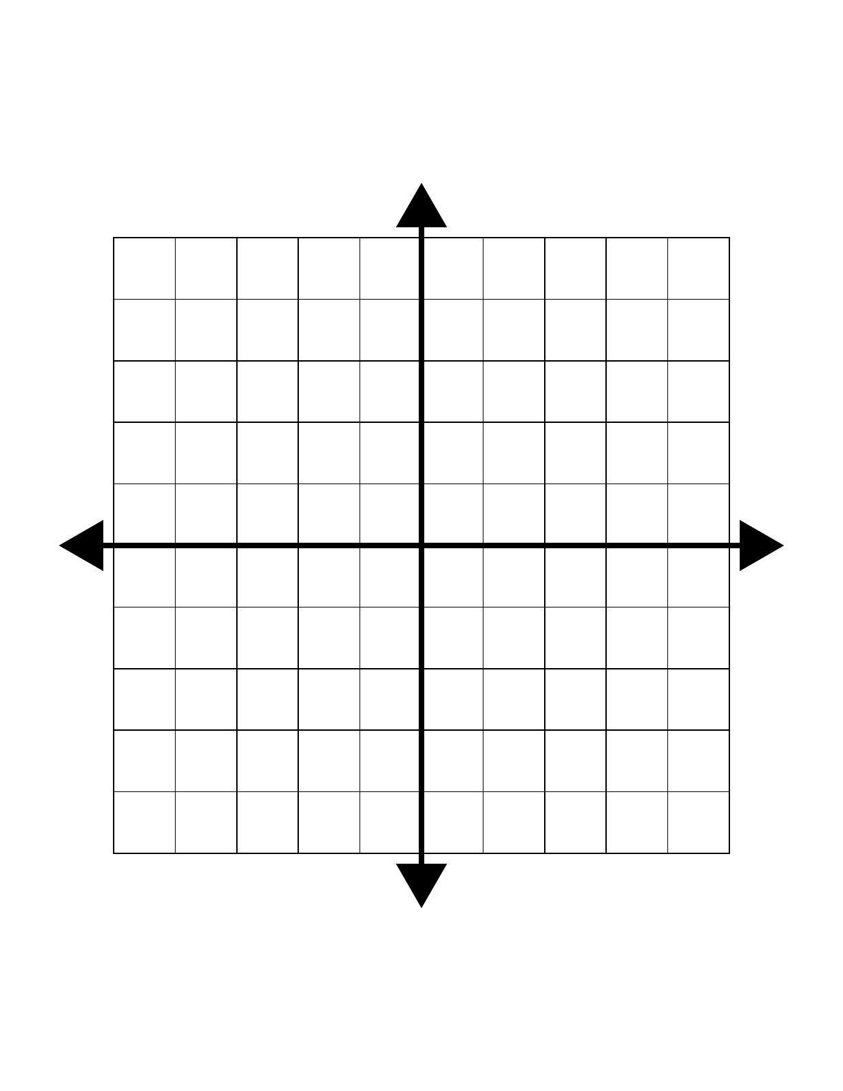 Four Quadrant Cartesian Grid Small Free Download
