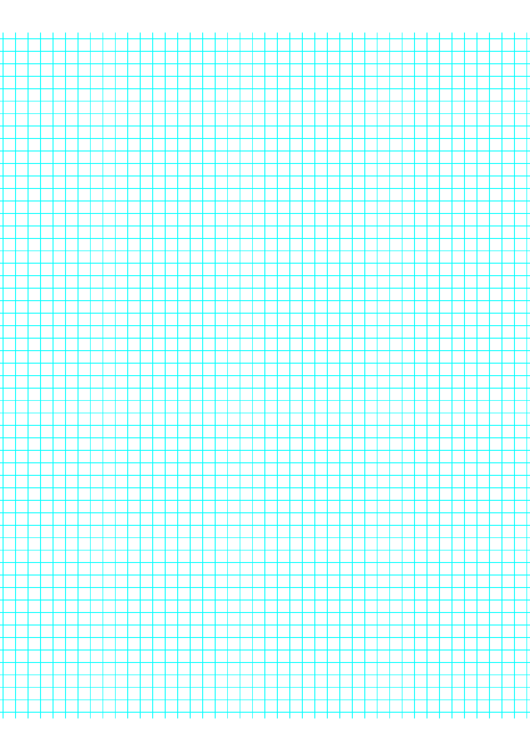 5 Lines per Inch Graph Paper on LetterSized Paper Free Download