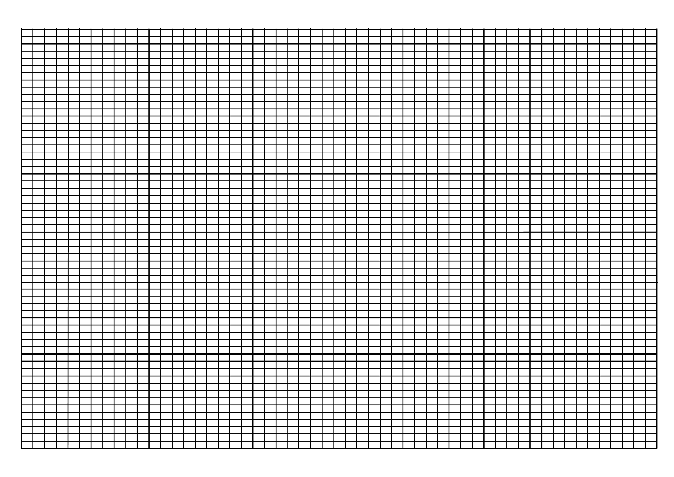 A4 Knitting Graph Paper Free Download