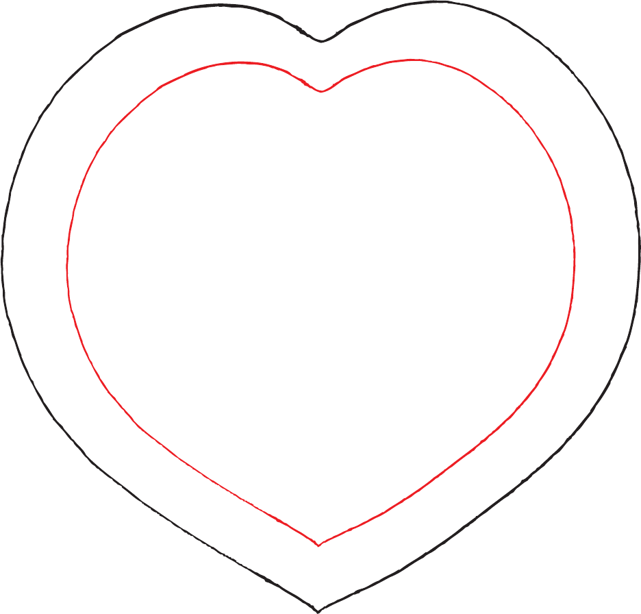 Heart Template Sample Free Download