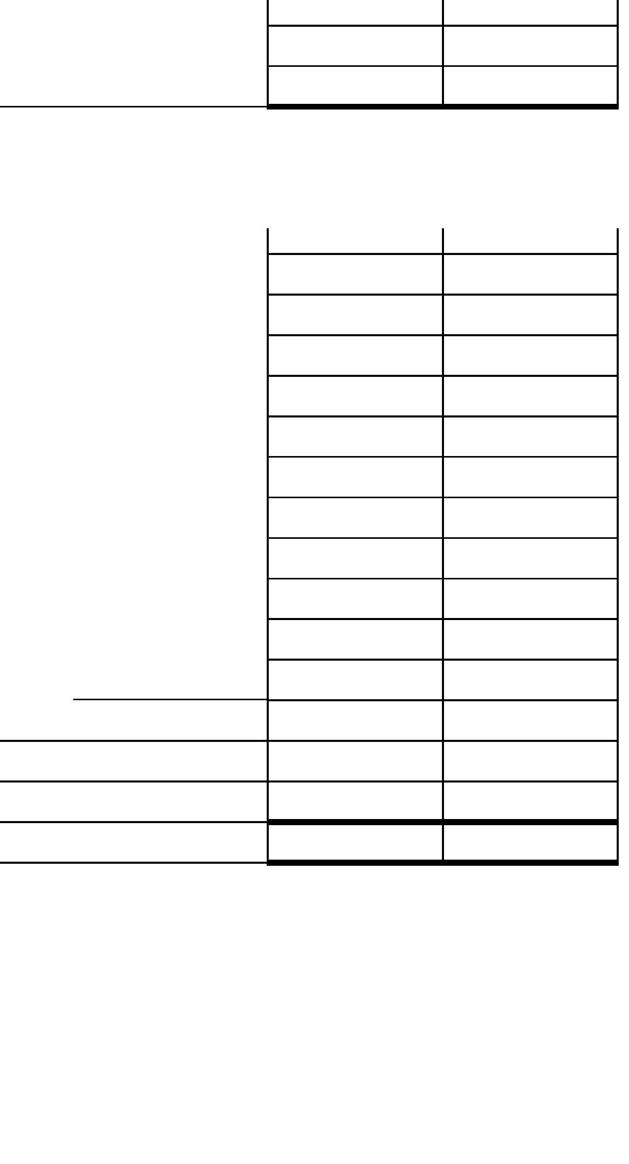 Blank Family Budget Worksheet Free Download