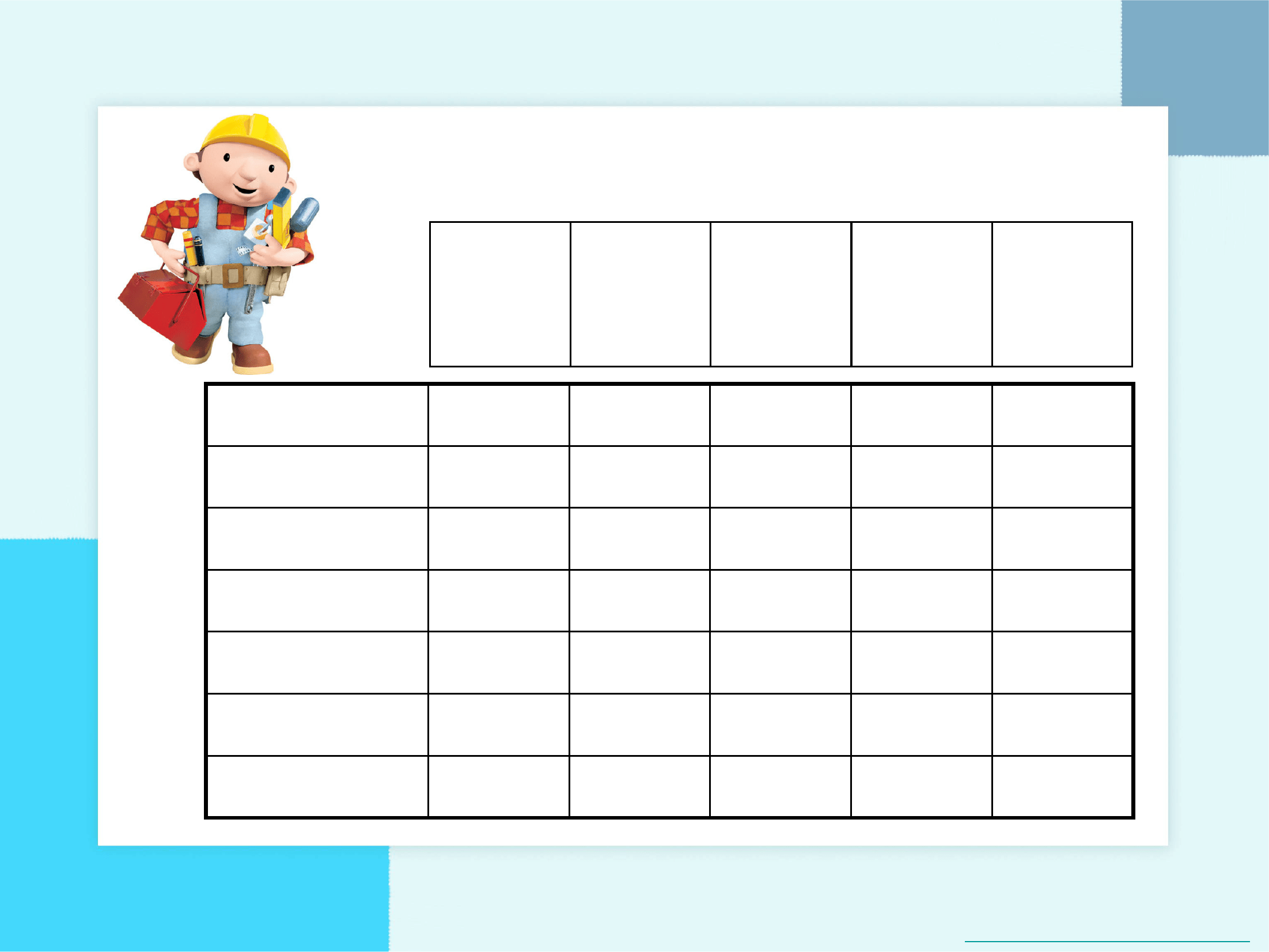 Blank Potty Training Chart Free Download