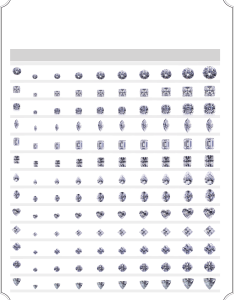 also actual diamond size chart free download rh formsbirds