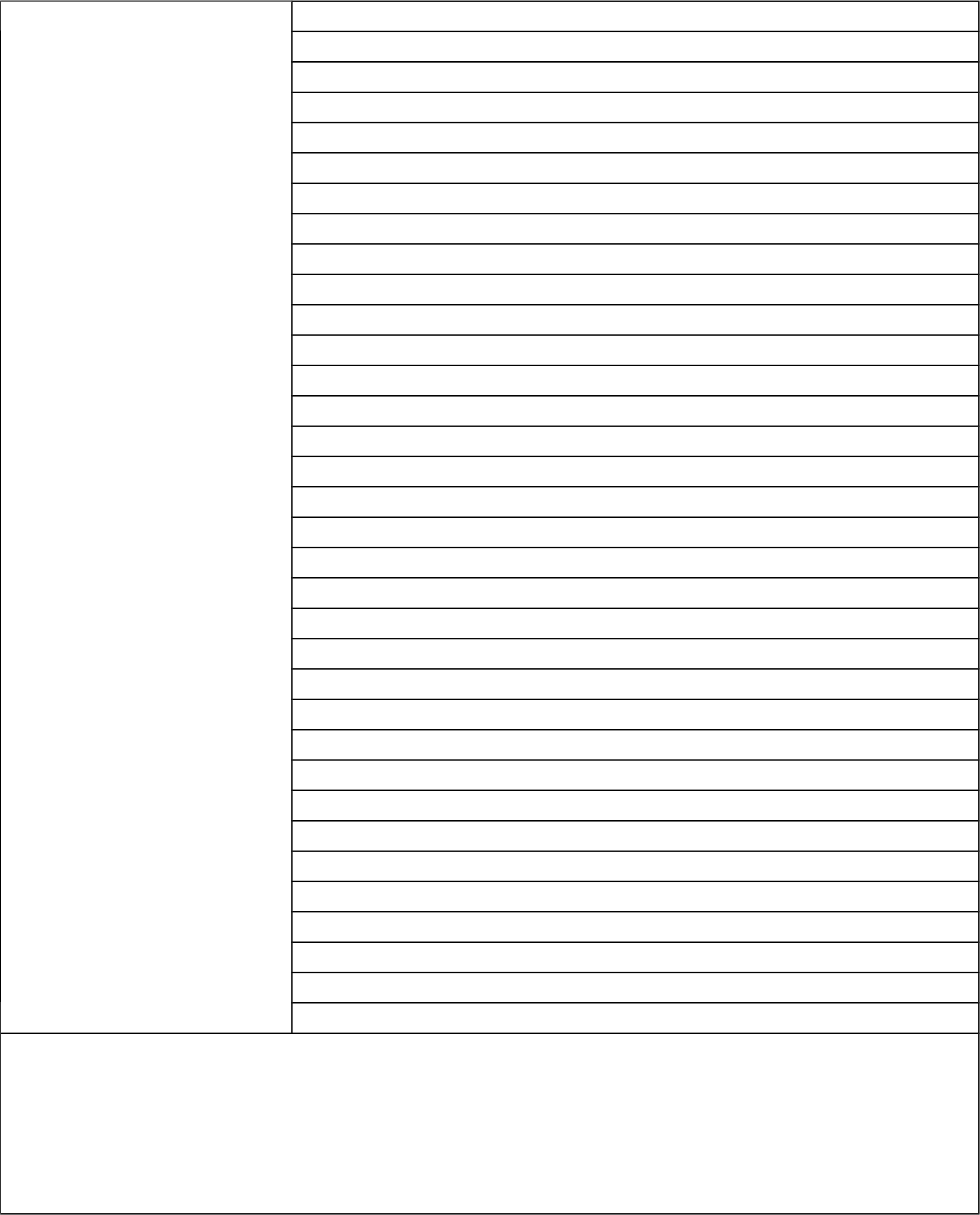 Simple Cornell Notes Template Free Download
