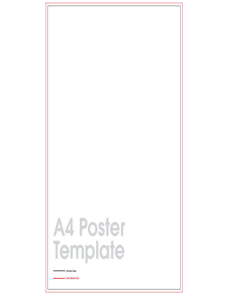 A4 Poster Sample Free Download