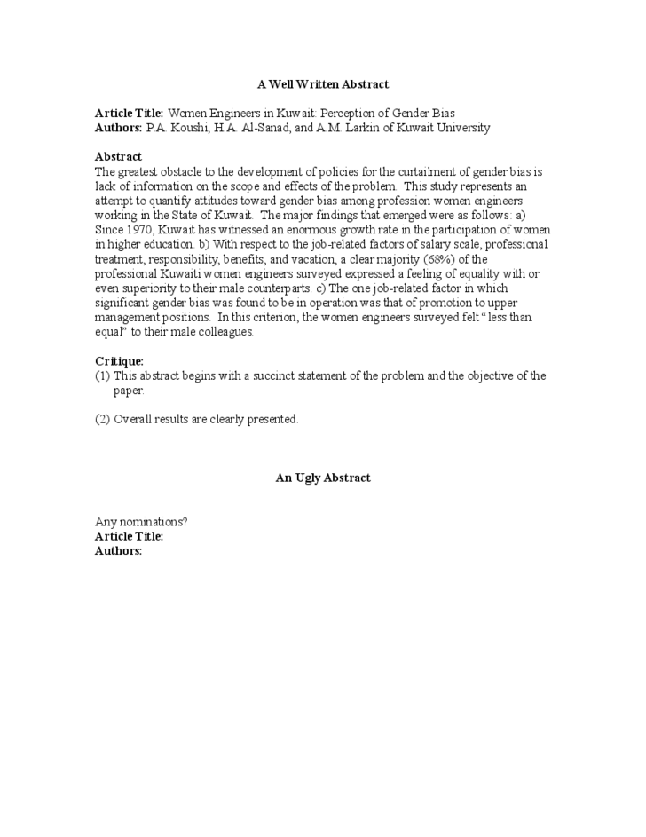example of a good resume paper