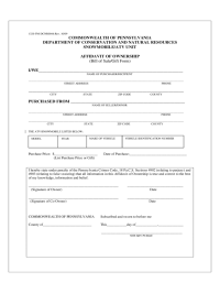 Pennsylvania Bill of Sale Form - Free Templates in PDF ...