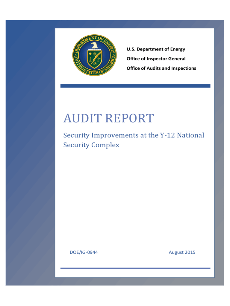 Audit Report  6 Free Templates in PDF Word Excel Download