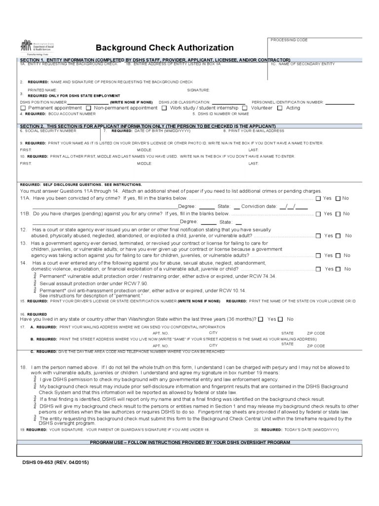background check release form template resume