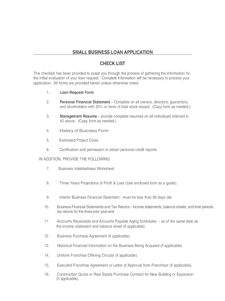 Bank Loan Application Form 2 Free Templates In PDF Word