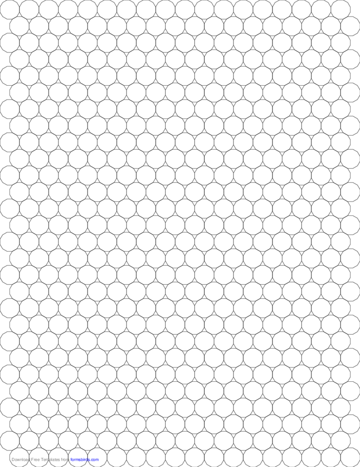 Small Tessellation Graph Paper (3.12.12) Free Download