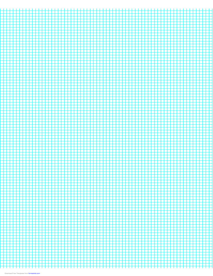 8 Lines Per Inch Graph Paper On A4 Sized Paper Free Download