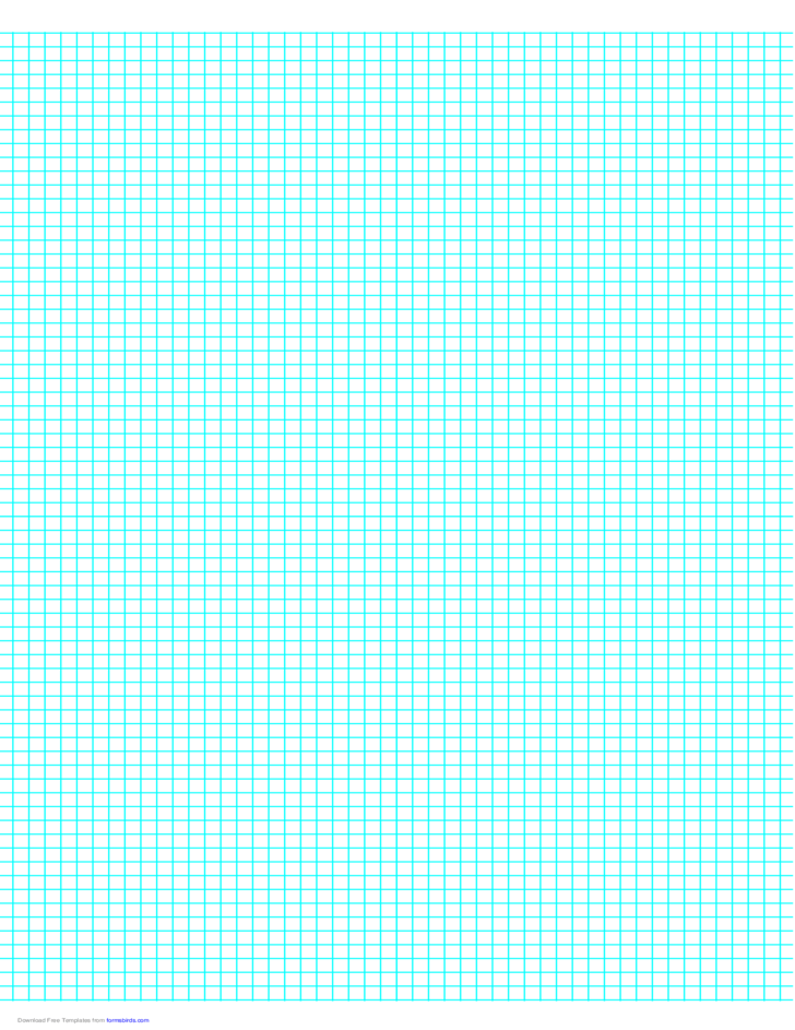 6 Lines per Inch Graph Paper on A4Sized Paper Free Download