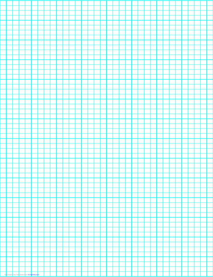 4 Lines per Inch Graph Paper on LegalSized Paper Heavy
