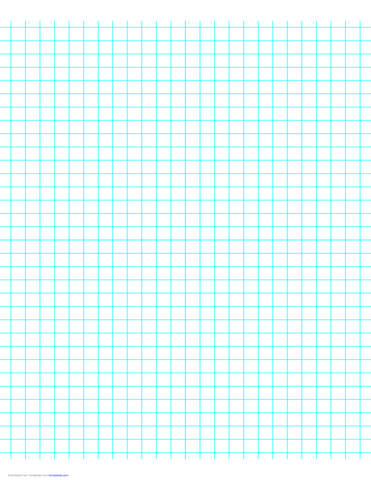 3 Lines per Inch Graph Paper on LetterSized Paper Free Download