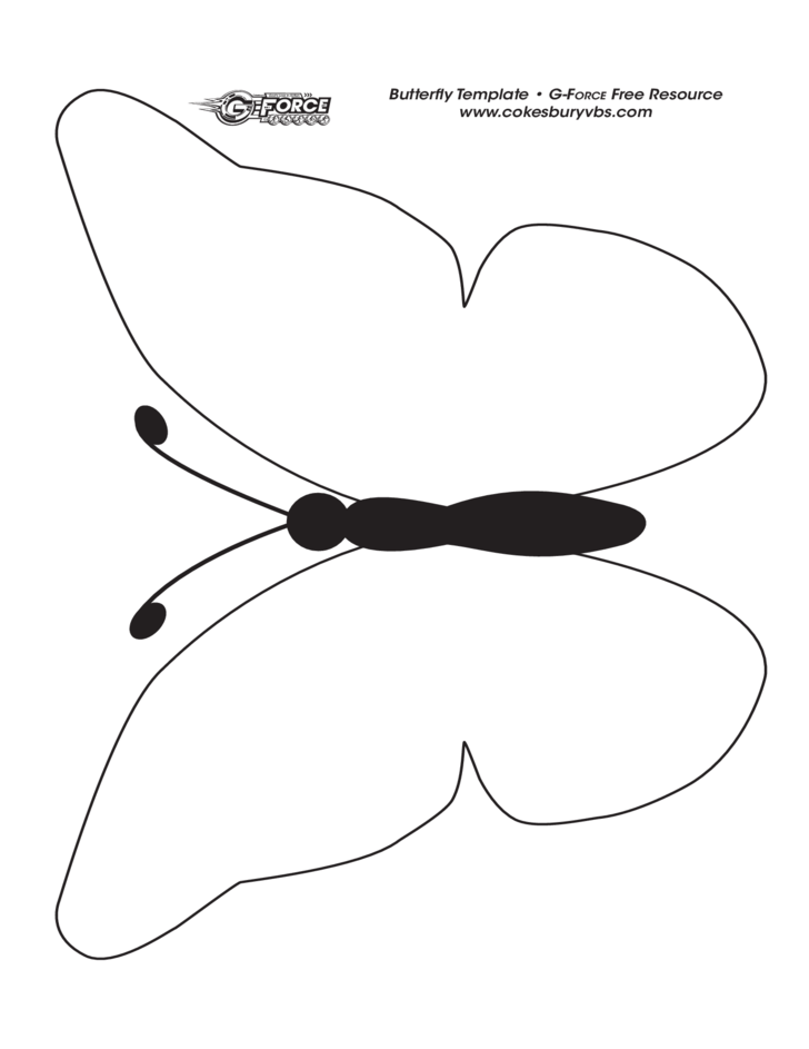 Butterfly Template Sample Free Download